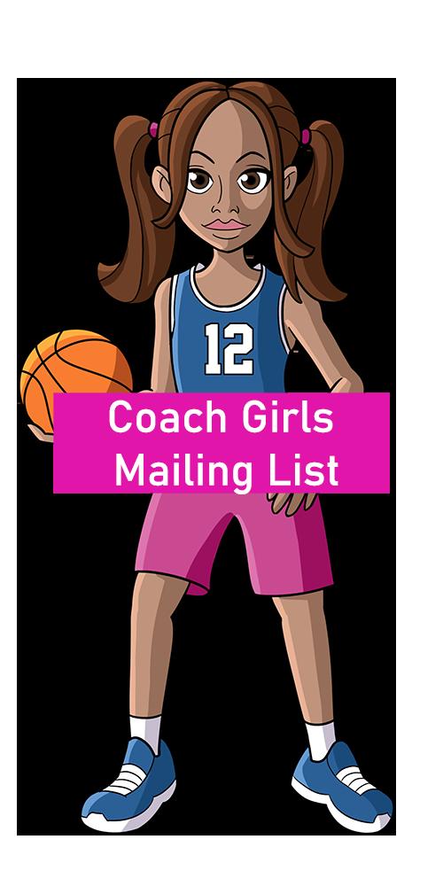 Coach Girls Mailing List