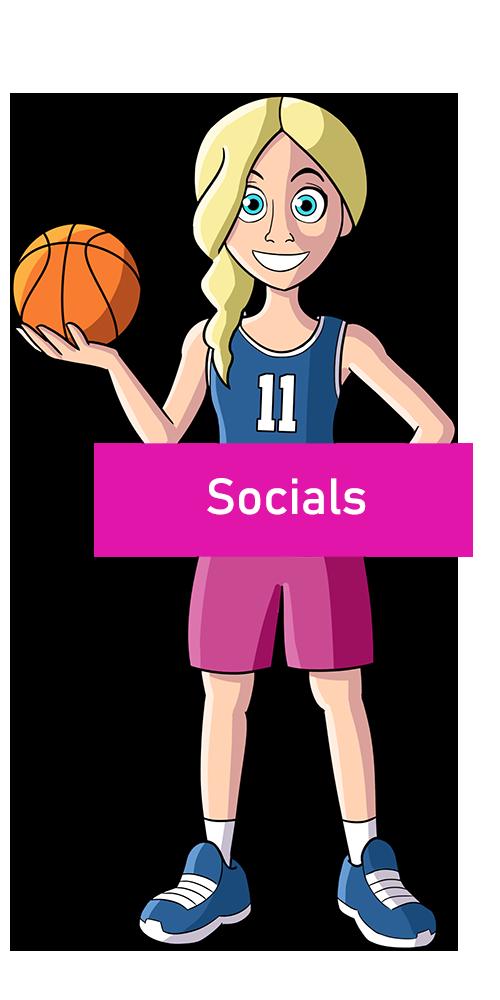 Coach Girls Socials
